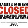 JAM CLOSED - NO CLASSES & OPEN GYMS!!