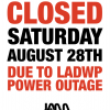 CLOSED 8/28 DUE TO POWER OUTAGE!