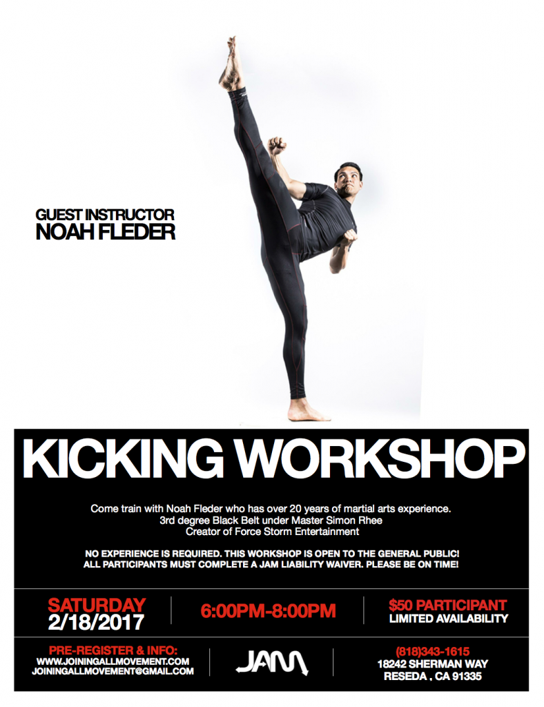 NOAH FLEDER WORKSHOP