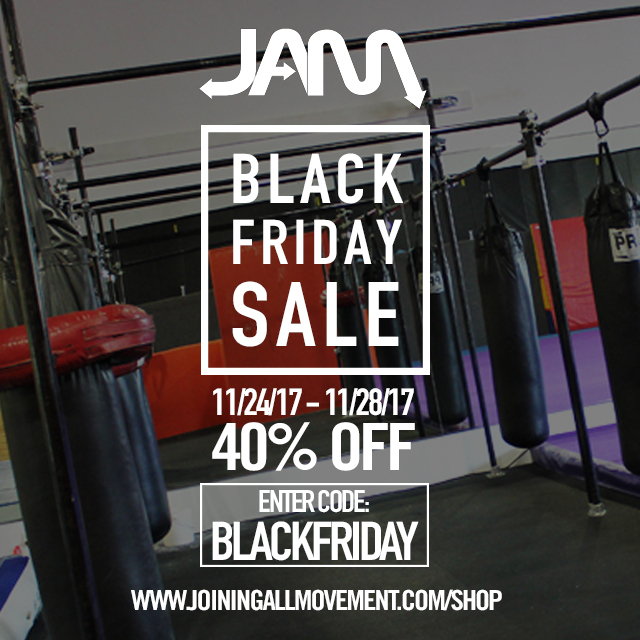 JAM BLACK FRIDAY FLYER